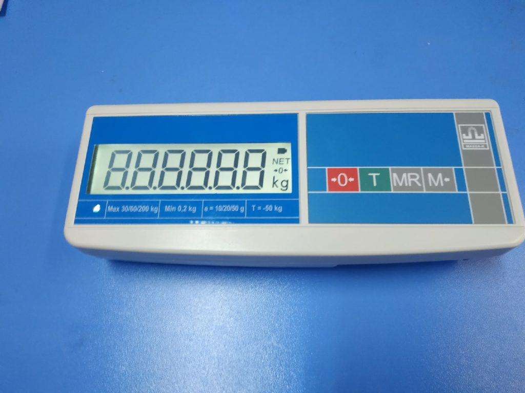Ремонт весов Масса-К - замена разбитого дисплея
