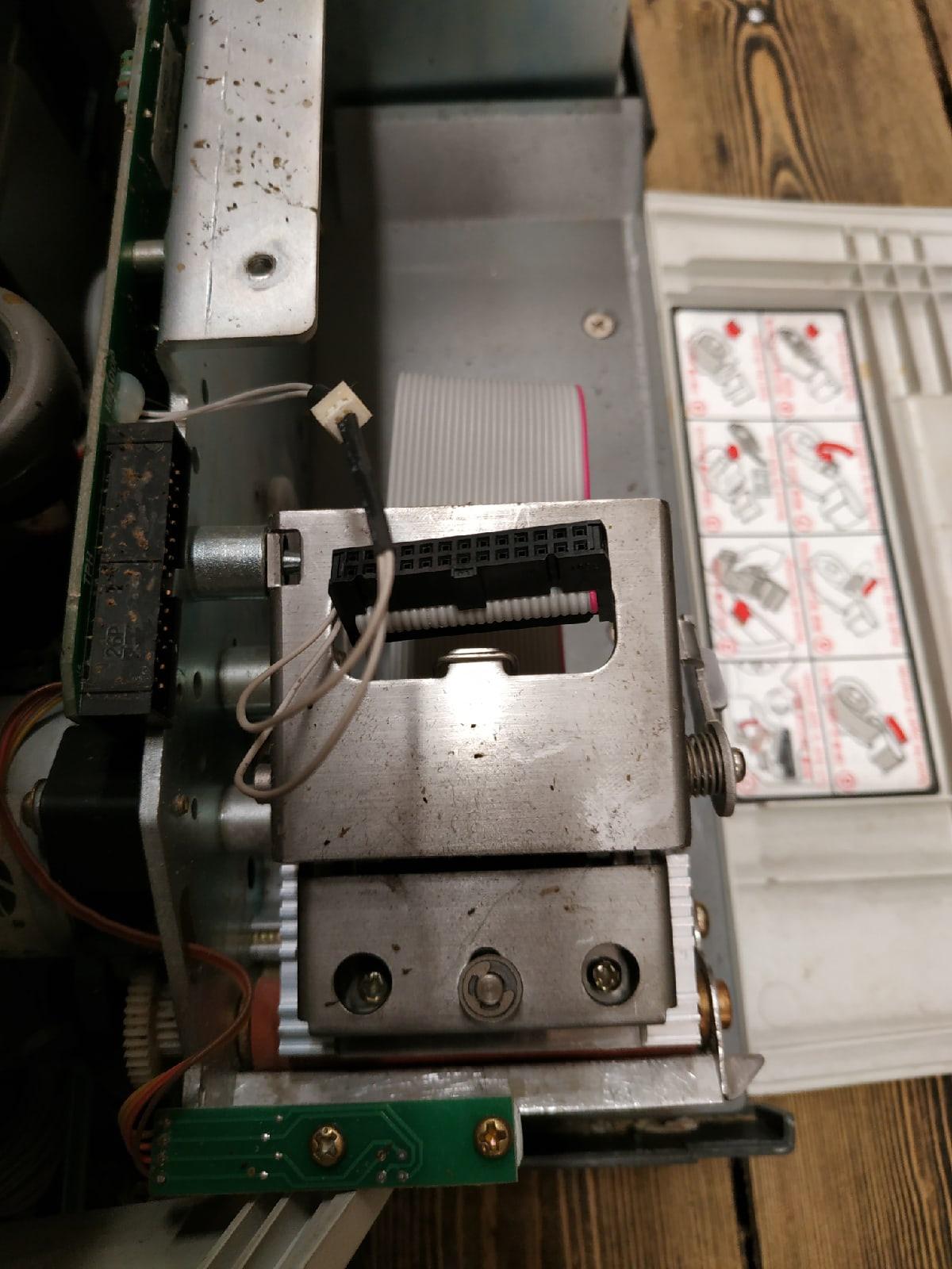 Ремонт весов CAS 5000J — не пропечатывает информацию на этикетке