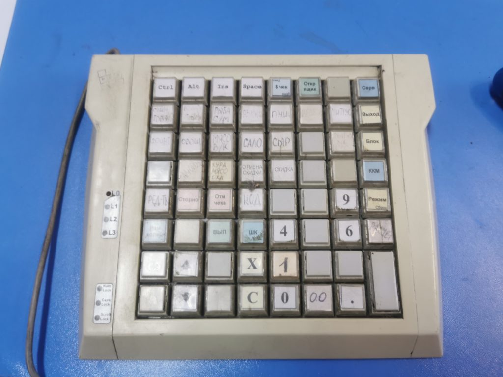Ремонт программируемой клавиатуры POSua LPOS-064 - не определяется компьютером и нет клавиш