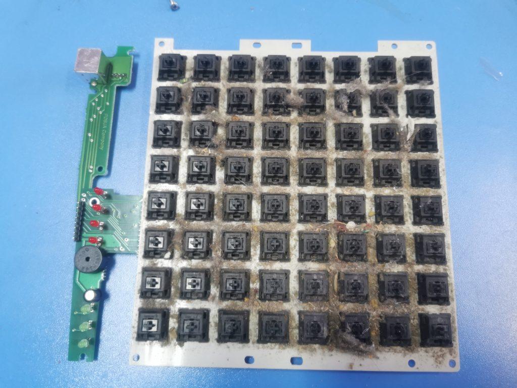 плата клавиатуры POSua LPOS-064